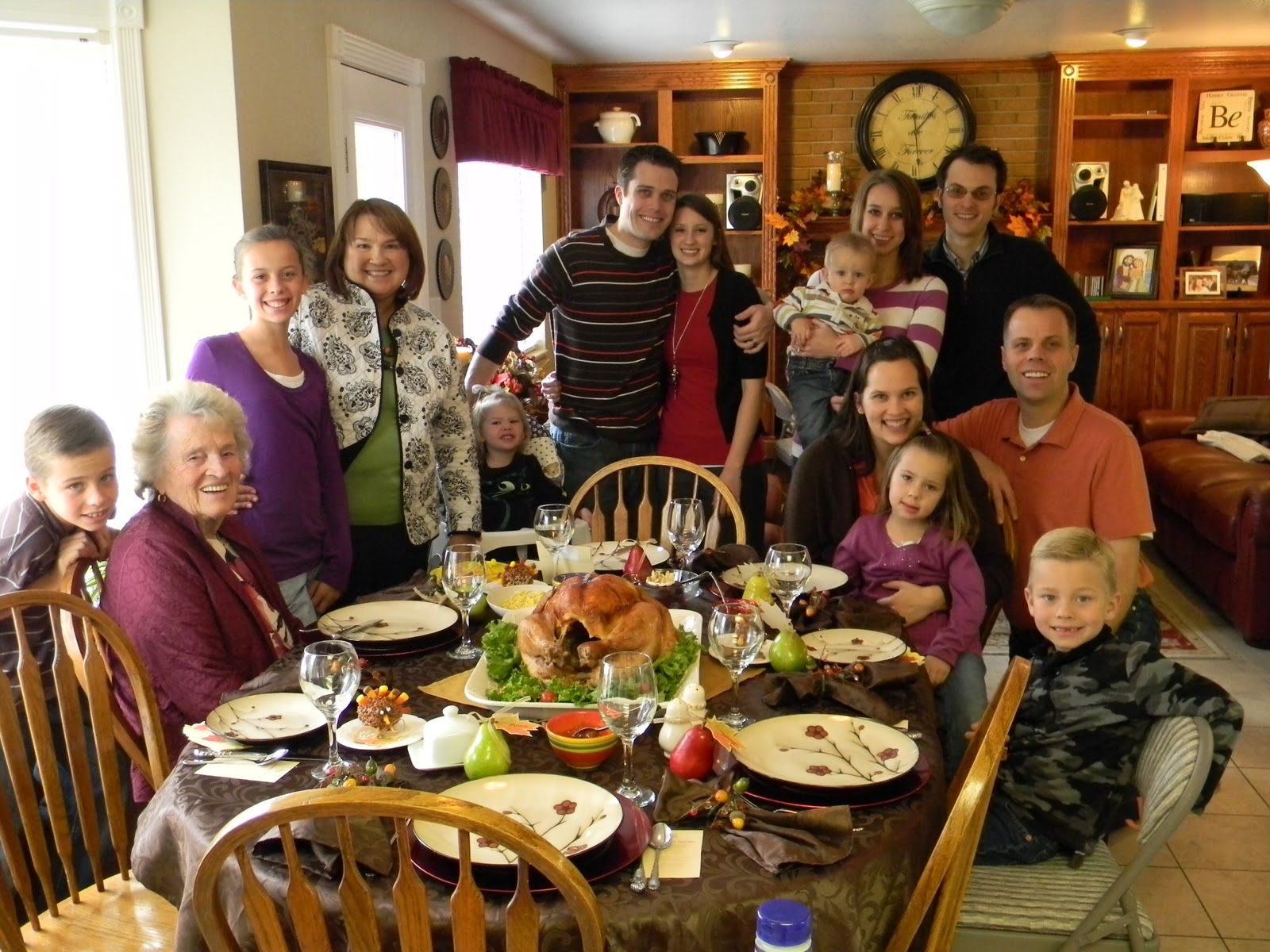 Thanksgiving And Families Take Time To Talk Agewise